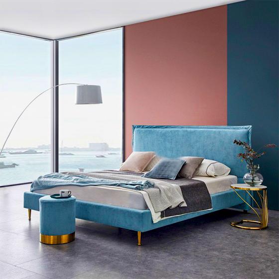 Giường ngủ hiện đại đơn giản 02