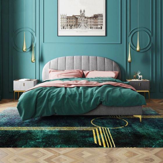 Giường ngủ hiện đại đơn giản 04