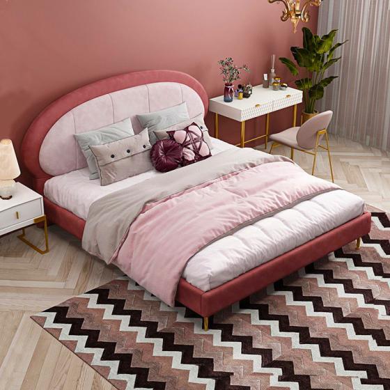 Giường ngủ hiện đại đơn giản 07