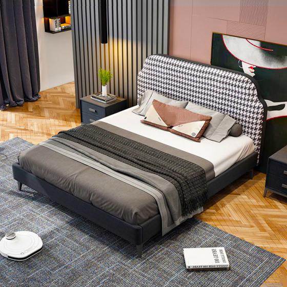 Giường ngủ hiện đại đơn giản 09