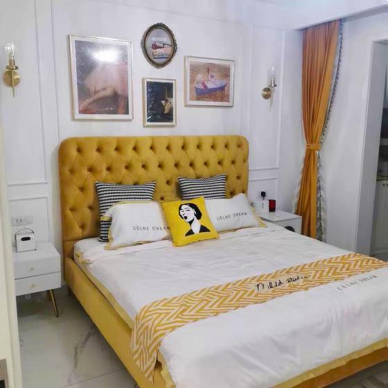 Giường ngủ hiện đại đơn giản 10