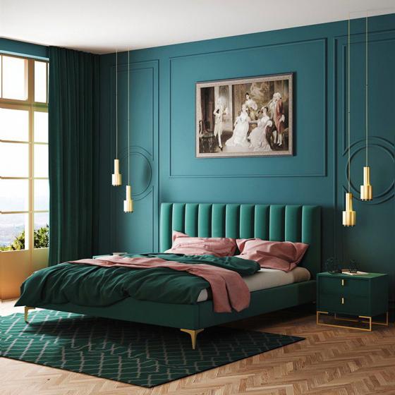 Giường ngủ hiện đại đơn giản 11