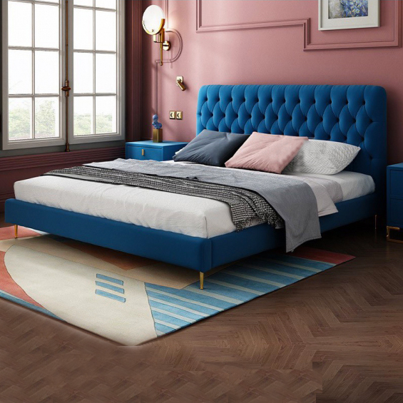 Giường ngủ hiện đại đơn giản 12